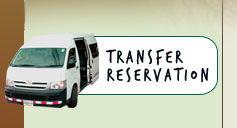 Reserve your shuttle or your private transportation